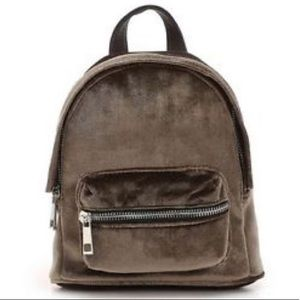 Madden Girl Port Velvet Mini Backpack